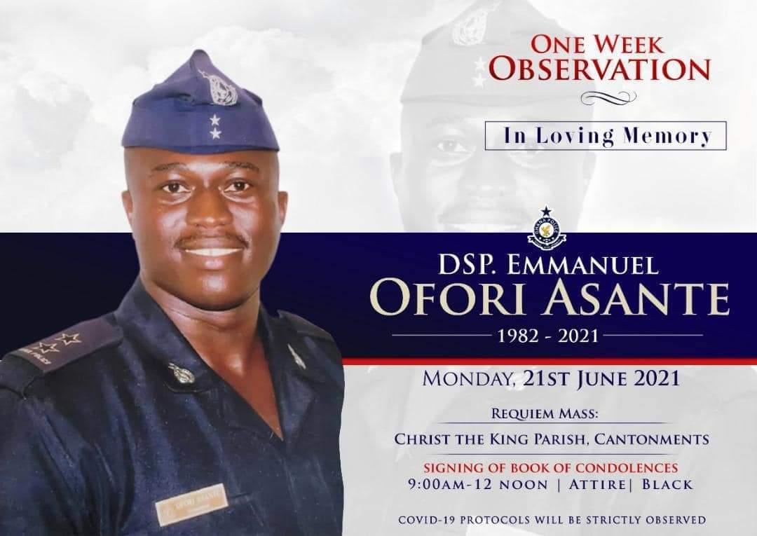 GFA delegation calls on family of late DSP Ofori Asante
