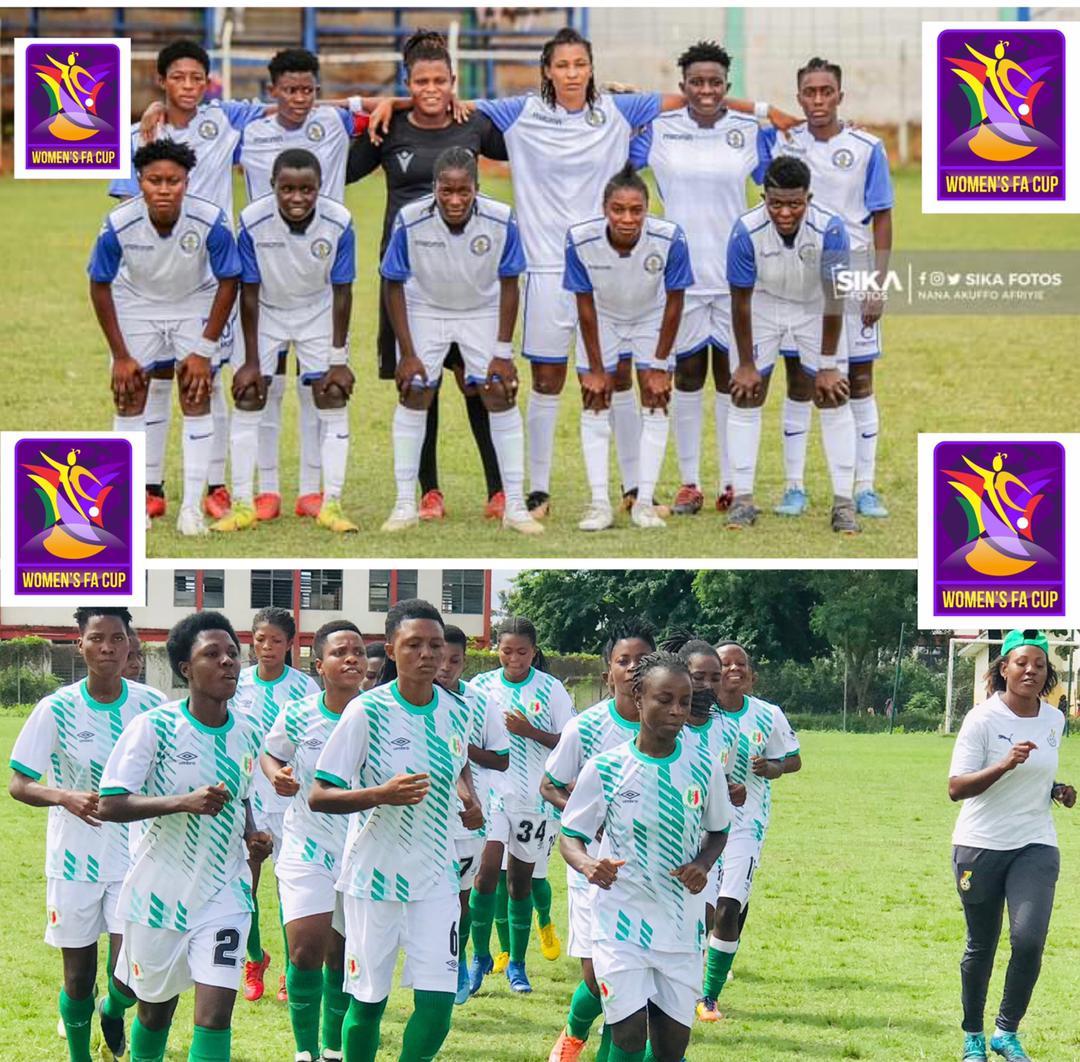 Ampem Darkoa, Hasaacas Ladies advance to Women's FA Cup final