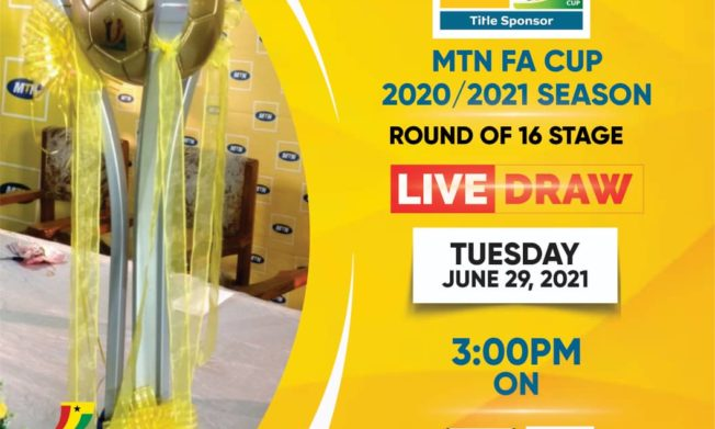 MTN FA Cup Round of 16 Live Draw to be held on Tuesday