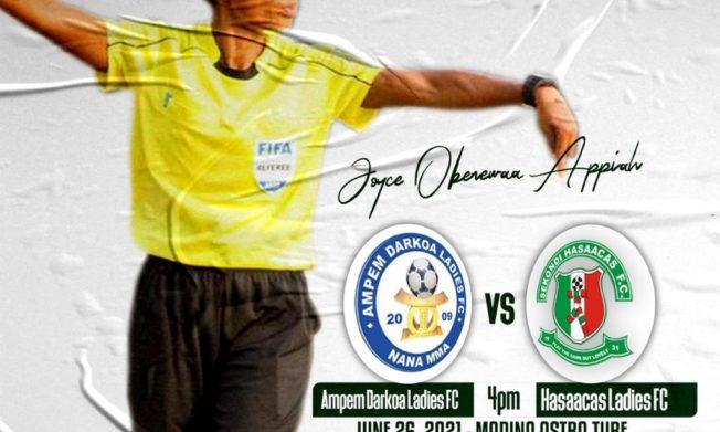 Joyce Obenewaa Appiah to officiate Women's Premier League final match