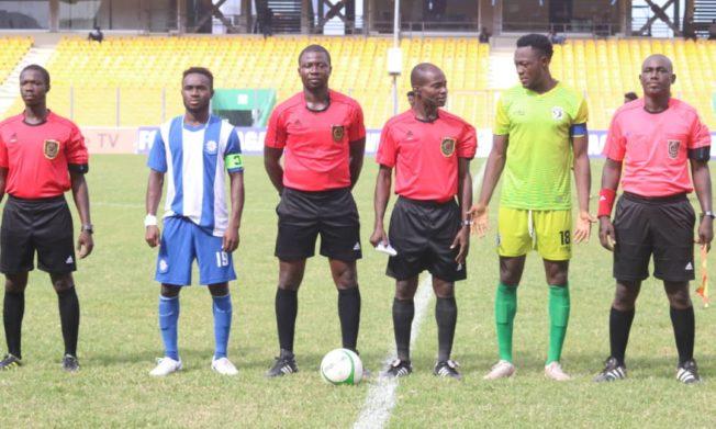 Match Officials for Ghana Premier League Matchweek 31