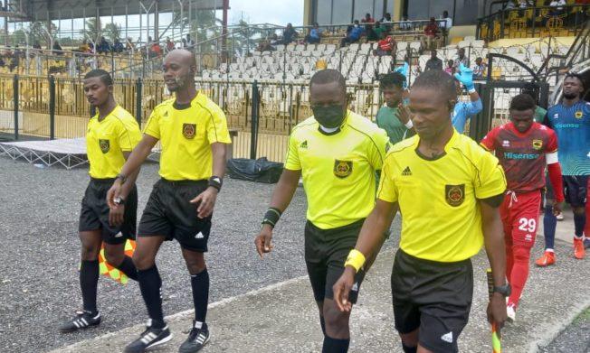 Match Officials for Ghana Premier League Matchweek 34