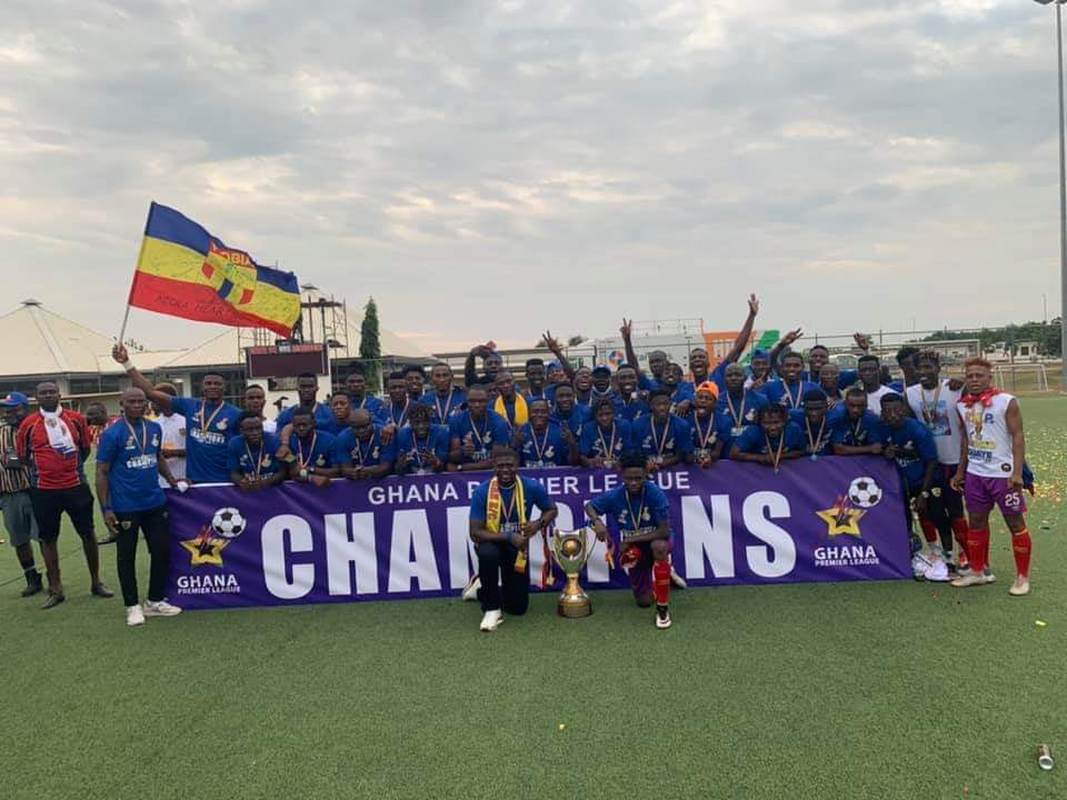 Accra Hearts of Oak crowned League Champions