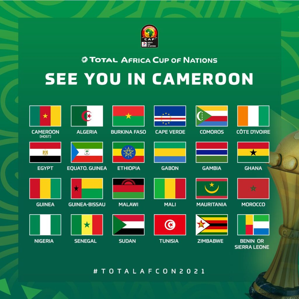 TotalEnegies Cup of Nations final draw to be held August 17