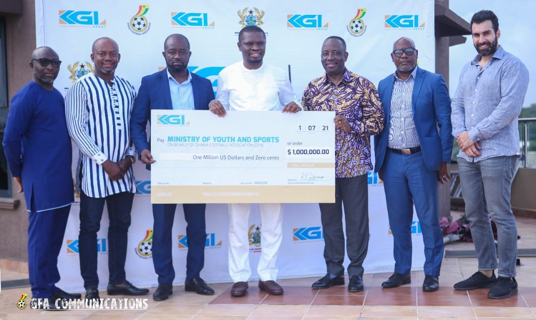 WhatsApp Image 2021 07 02 at 8.56.10 PM - Money Bag - Black Stars AFCON preparation boosted by 1 million Dollar KGL support