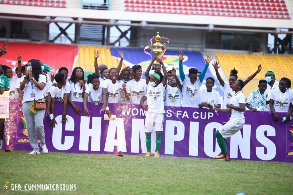 Hasaacas Ladies beat Ampem Darkoa Ladies to seal an historic double