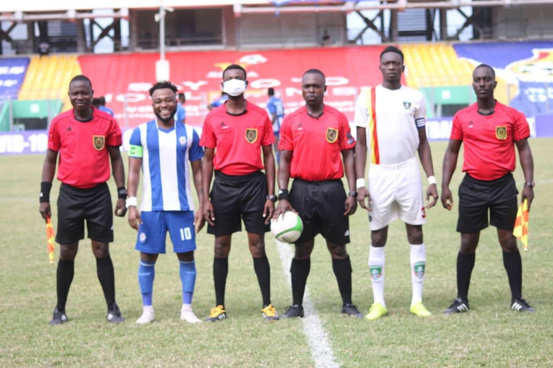 Match Officials for Ghana Premier League Matchweek 33