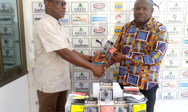 Catch Them Young policy:  GFA presents equipment to RFA's
