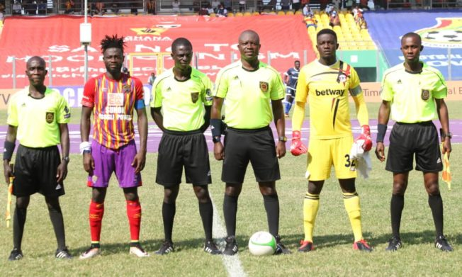 Referee & MC for Hearts of Oak vs Liberty Week 33 game charged for misconduct