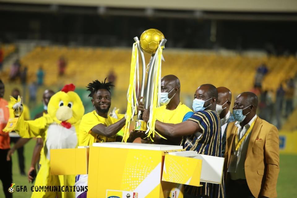 Photos: Hearts of Oak beat AshantiGold to win MTN FA Cup