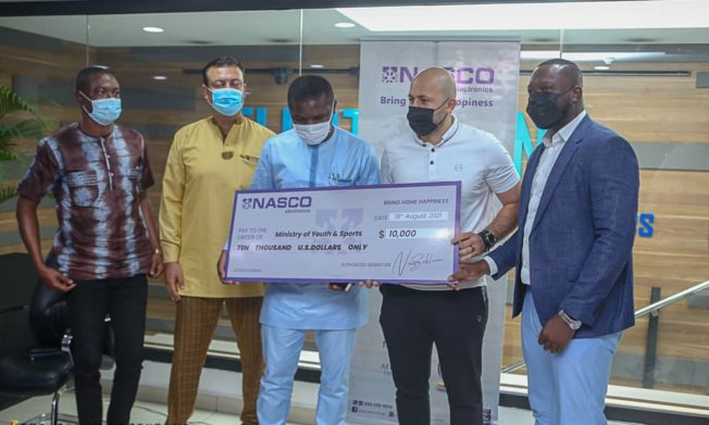 Electroland Ghana supports Black Stars,national teams with $60,000