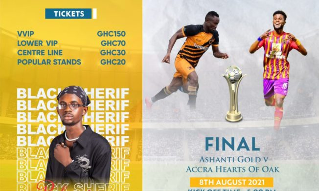Ticket prices for MTN FA Cup final match announced