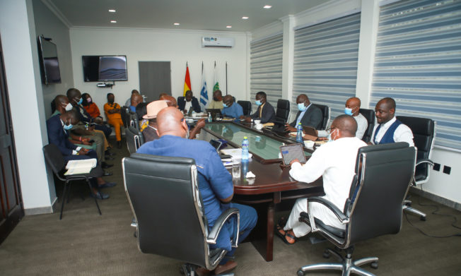 Leadership of GHALCA calls on GFA Executive Council