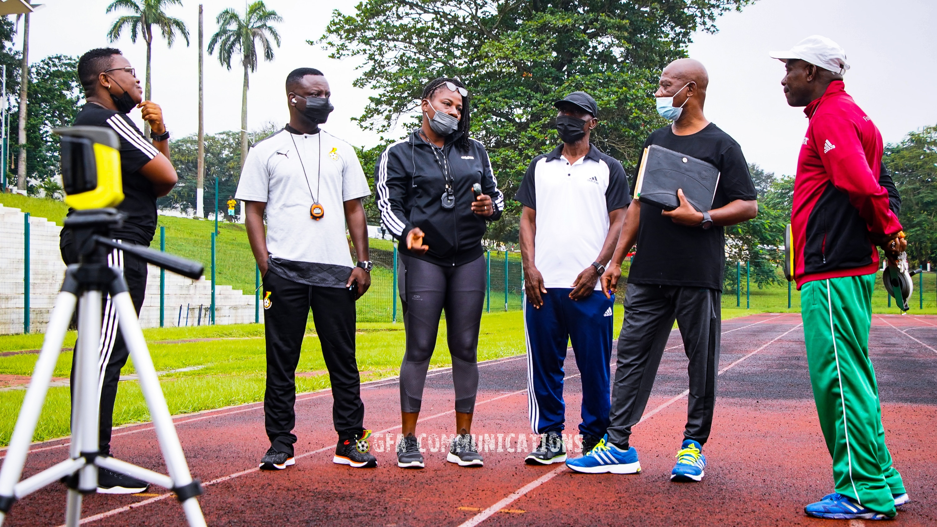 Ghanaian FIFA Referees complete annual fitness and medical test