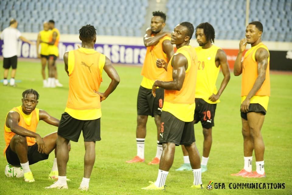 Black Stars to train behind closed doors