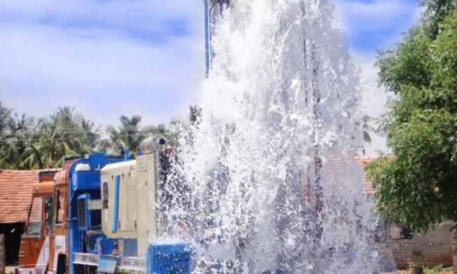 GFA borehole project reaches Sunyani Coronation Park