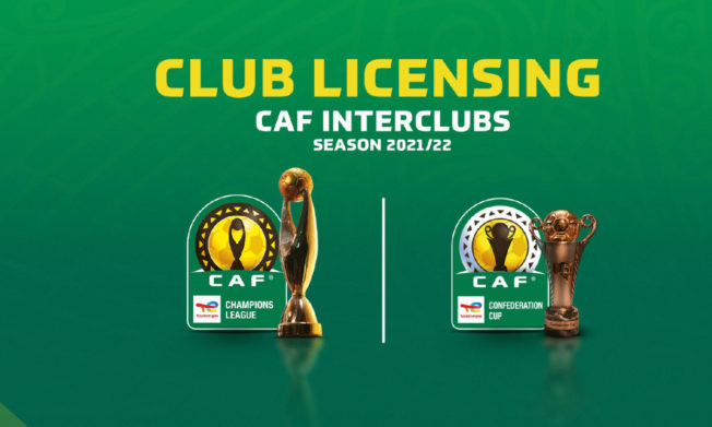 CAF interClubs competition: List of Licensed Clubs for 2021/22 season