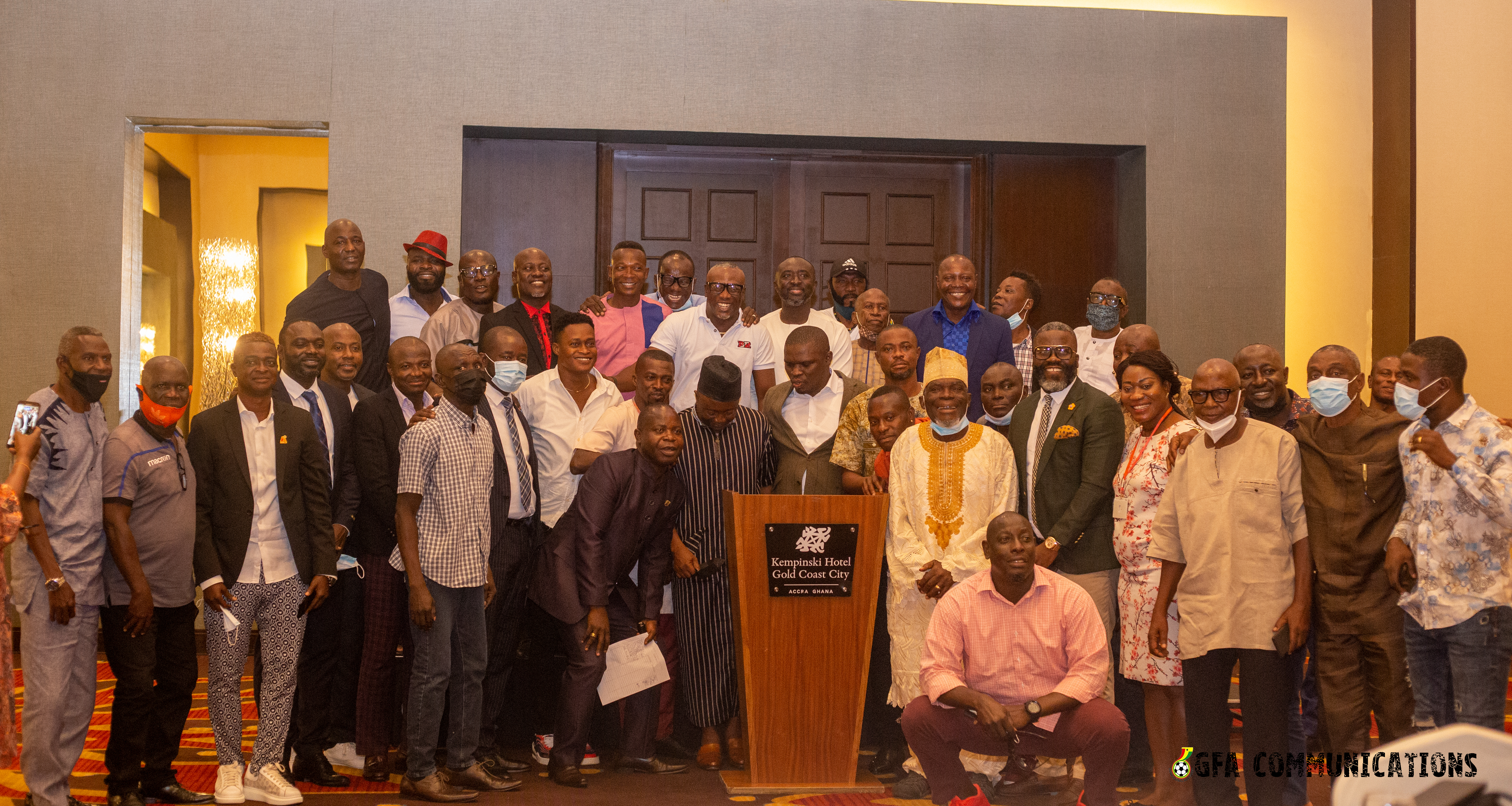 Sports Ministry, GFA interact with retired footballers