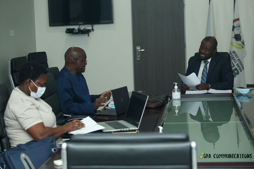 WAFU B President Simeon-Okraku holds review talks with officials of the Union