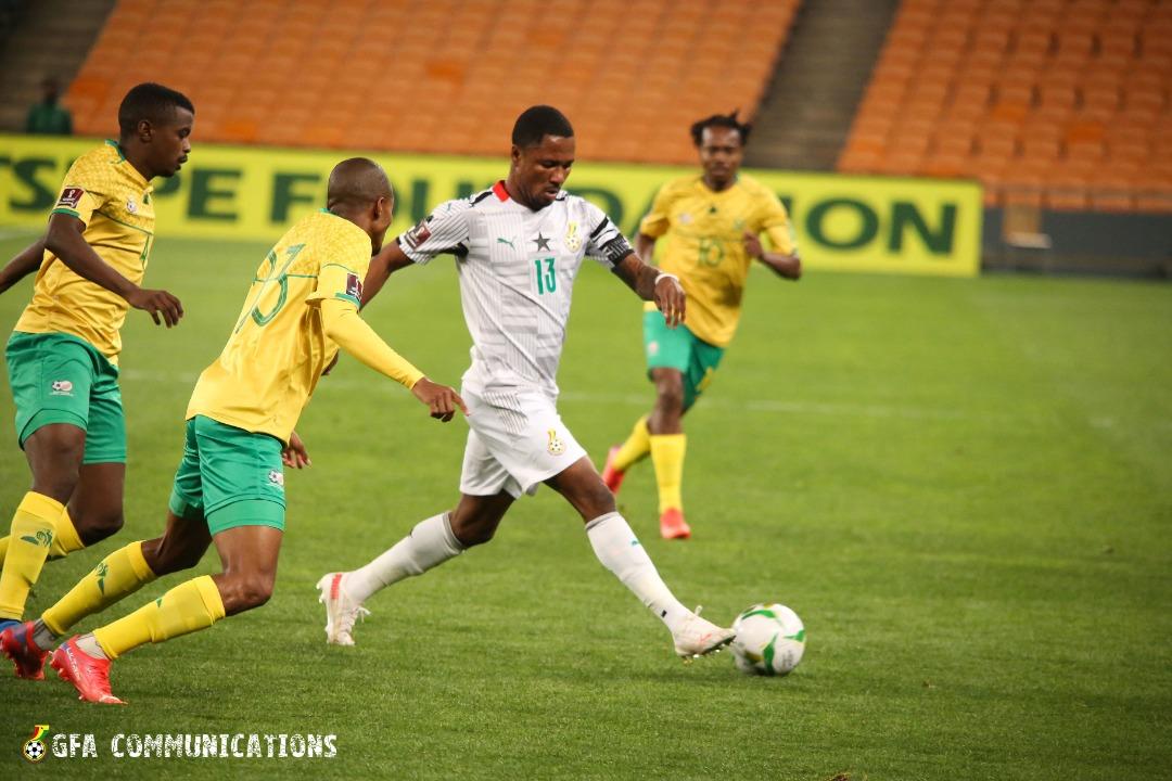 South Africa vs. Ghana: Late strike sinks Ghana in Johannesburg