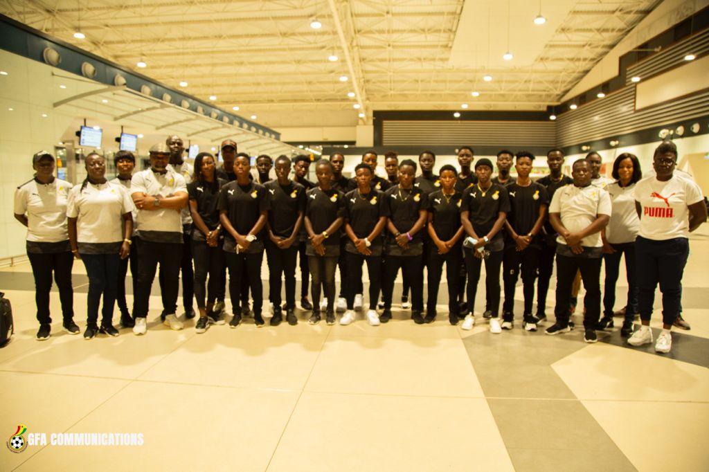 Black Queens arrive in Nigeria for Aisha Buhari Cup