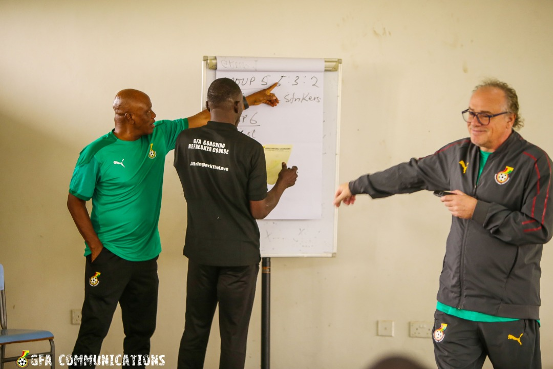 Coaching Education – License A refresher course ends Thursday