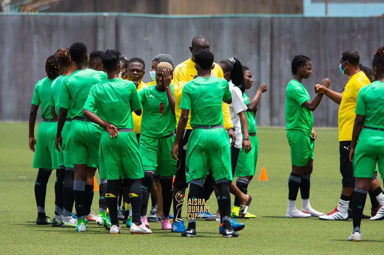 Black Queens hold first training in Surulere