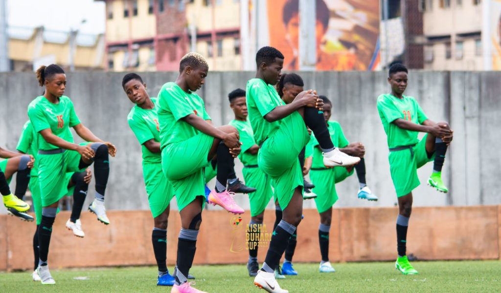 Black Queens hold first training in Surulere ahead of Aisha Buhari Cup opener