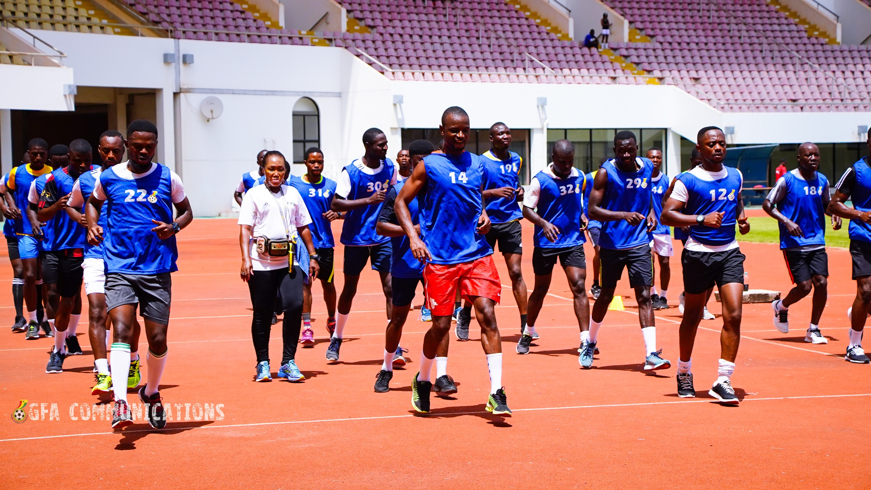 PHOTOS: Northern sector Referees and Assistant Referees end three-day fitness test in Tamale