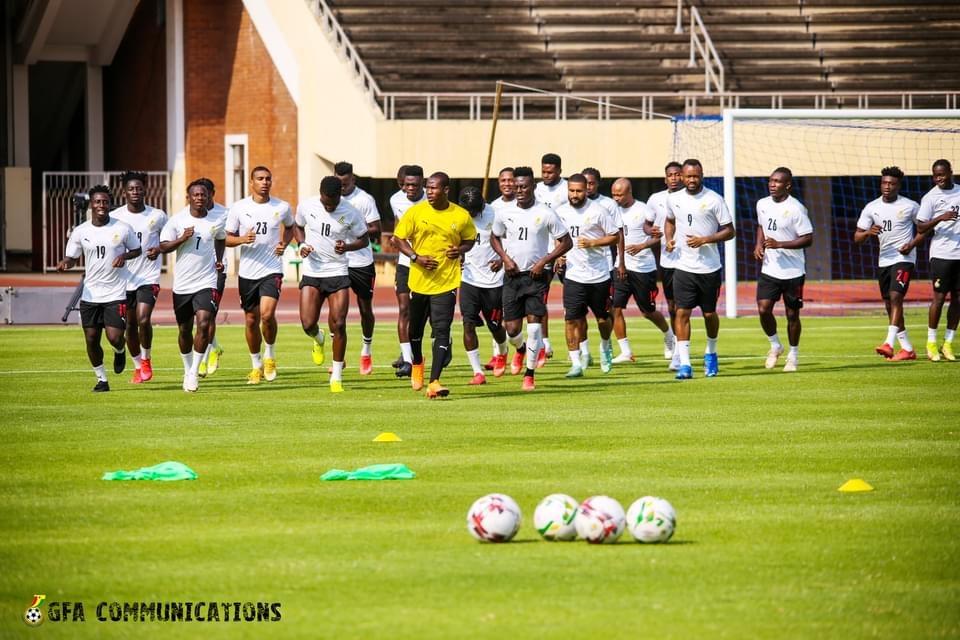 PHOTOS: Ghana train ahead of Zimbabwe clash