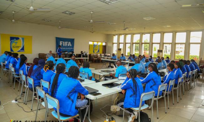 PHOTOS: Thirty elite female Referees undergo training at Prampram