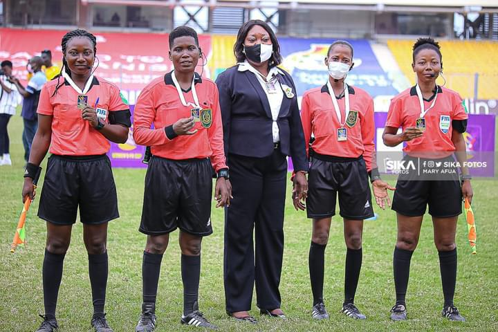 Match Officials for Regional Women's Zonal Championship Matchday three
