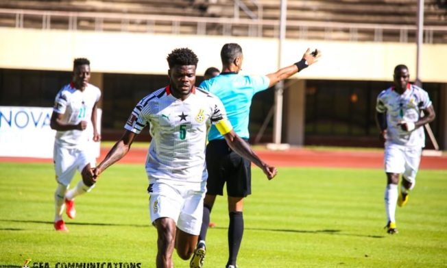 Partey free kick gives Ghana double over Zimbabwe