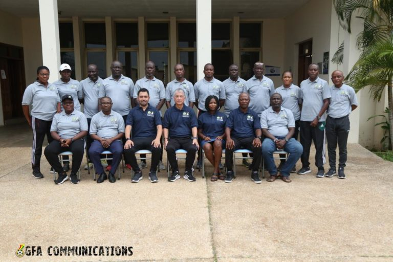 Eighteen Ghanaian referees begin CAF Referees Education and Learning Workshop