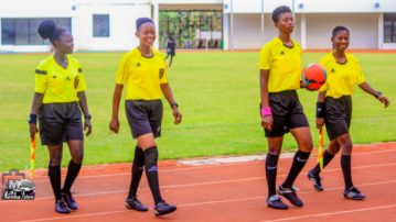 Referees for Match Day five of Zonal Championship released