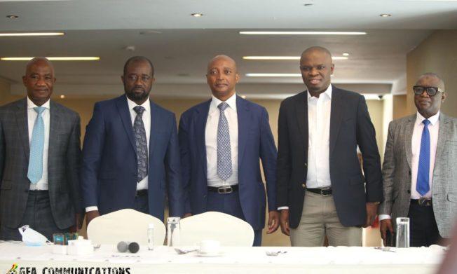 PHOTOS: CAF President Dr. Patrice Motsepe joins football Community, Corporate Ghana for breakfast